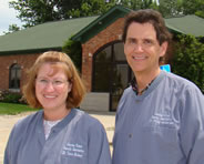 Dr. Terra Hickey and Dr. Philip Andersen, Center Point Family Dentistry in Center Point, IA